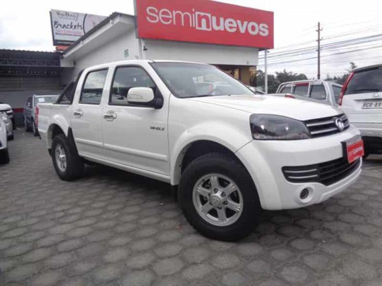 GREAT WALL WINGLE 4X2 DC GAS M/T (2018)