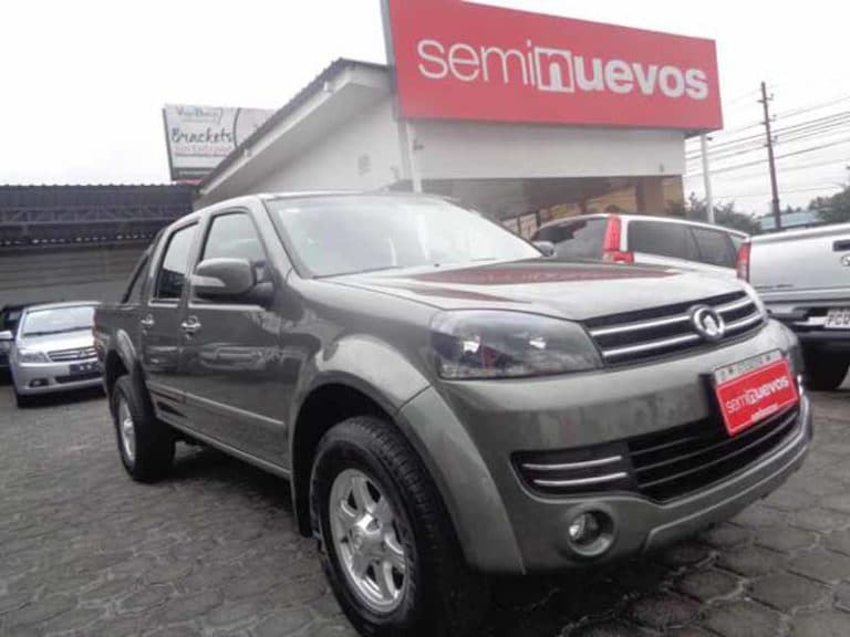 GREAT WALL WINGLE 4X4 DC GAS M/T (2018)