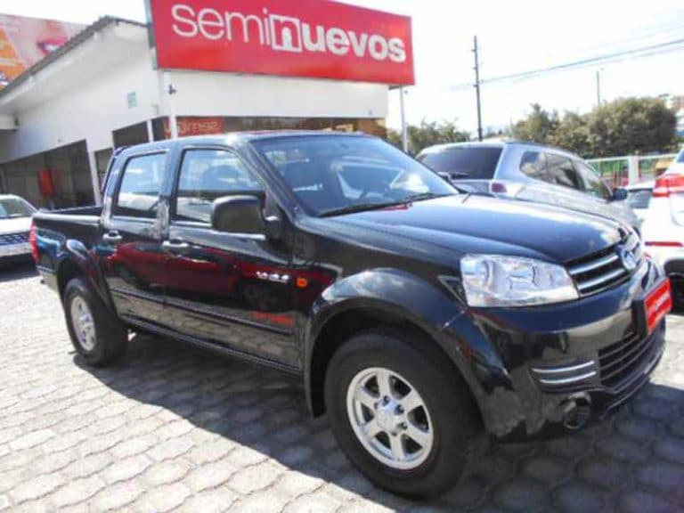 GREAT WALL WINGLE 4X2 DC DIESEL M/T (2017) PCT5943